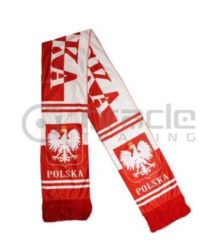 Poland Fleece Scarf