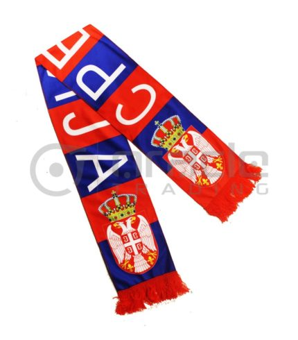 Serbia Fleece Scarf