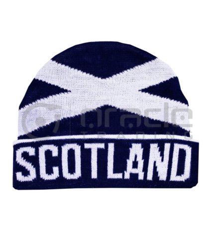 Scotland Fold-up Beanie