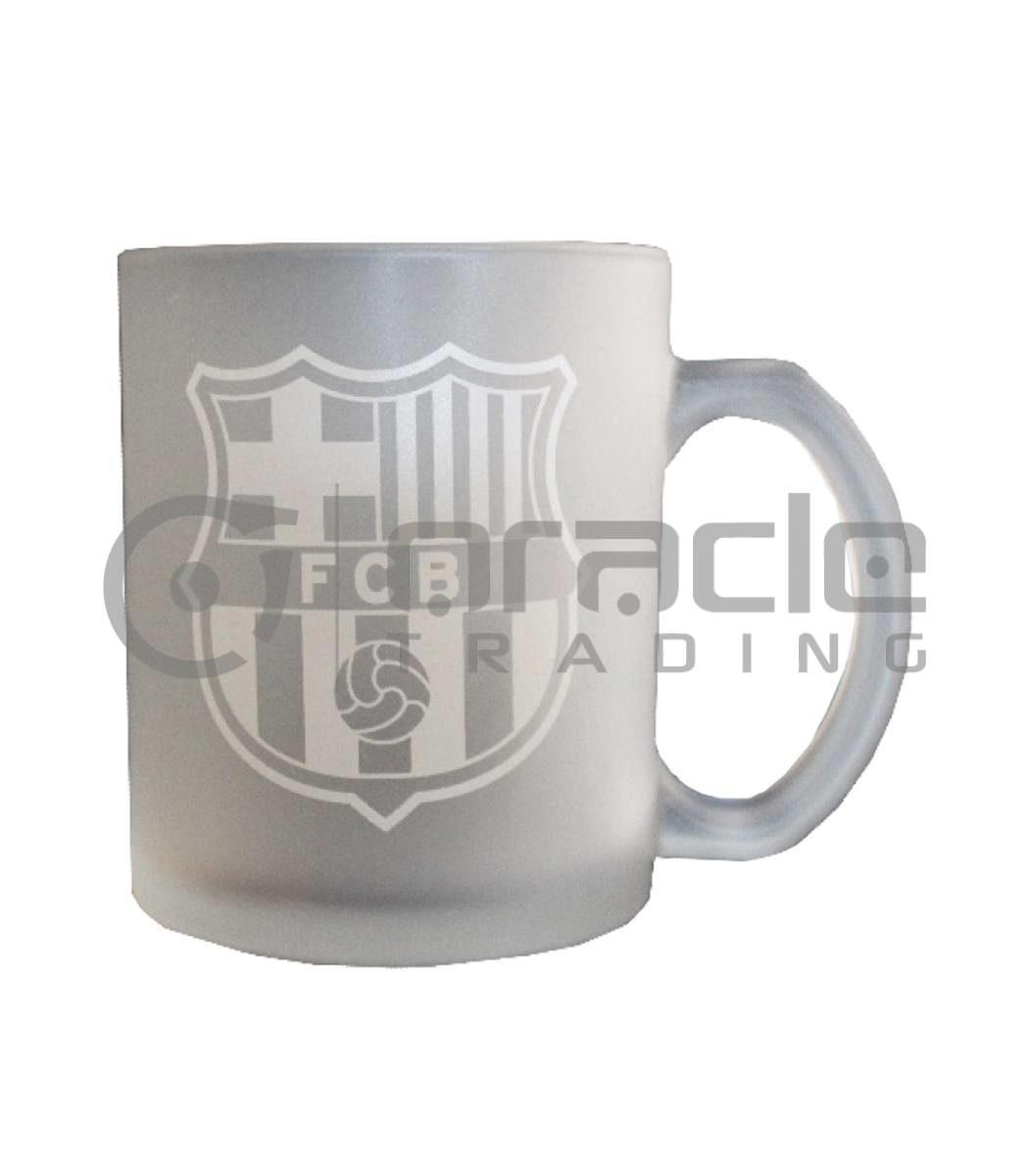 Barcelona Frosted Glass Mug