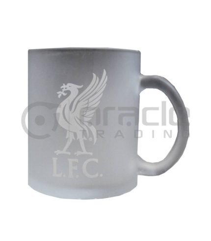 Liverpool Frosted Glass Mug