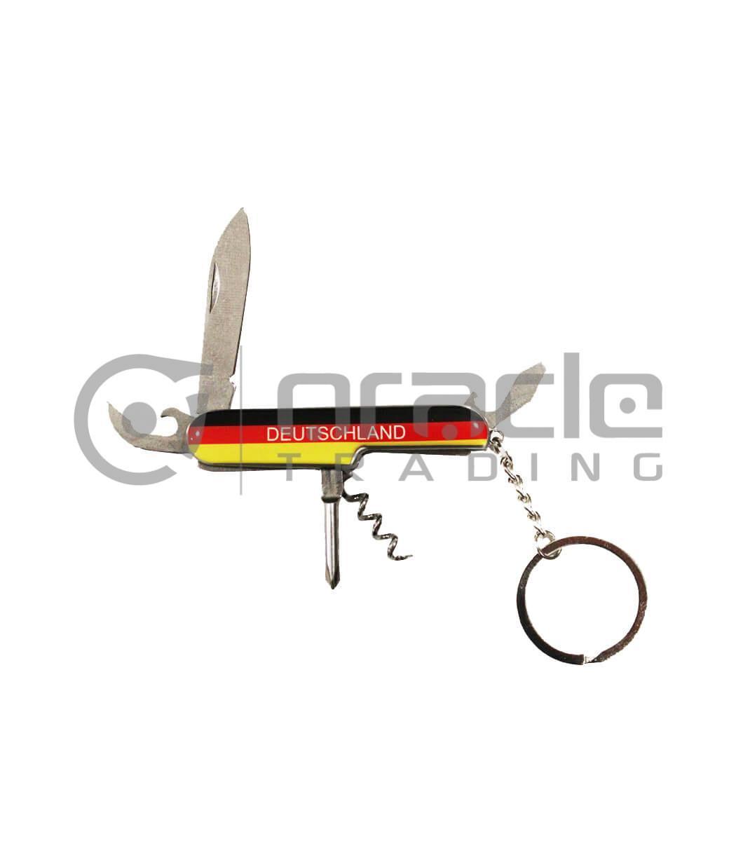 Germany Pocket Knife Keychain 12-Pack