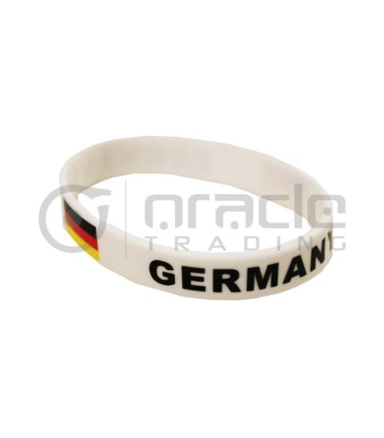 Germany Silicon Bracelet 12-Pack