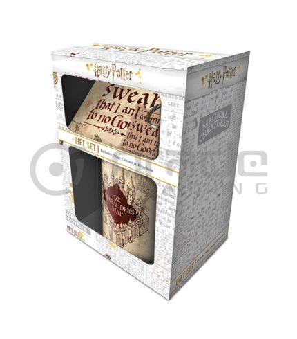 Harry Potter Gift Set - Marauders Map