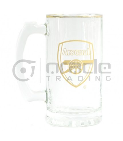 Arsenal Gold Beer Stein