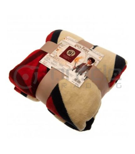 Harry Potter Fleece Blanket - Platform 9 & 3 Quarters