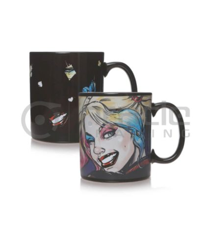 Harley Quinn Heat Reveal Mug