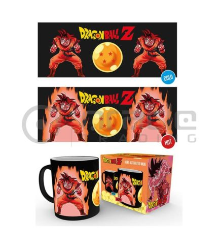 Dragon Ball Z Heat Reveal Mug