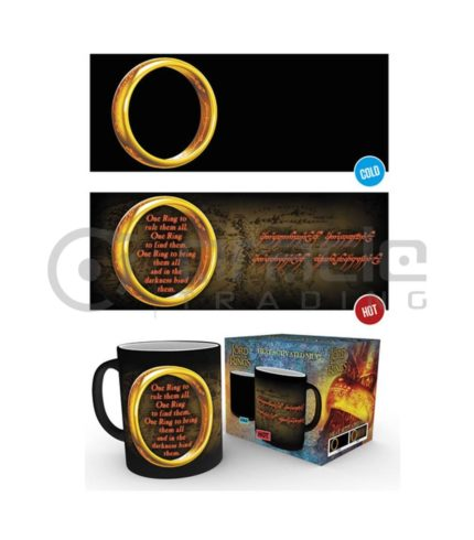 Lord of the Rings Heat Reveal Mug