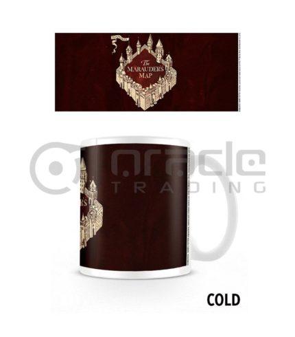 Harry Potter Marauder's Map Heat Reveal Mug