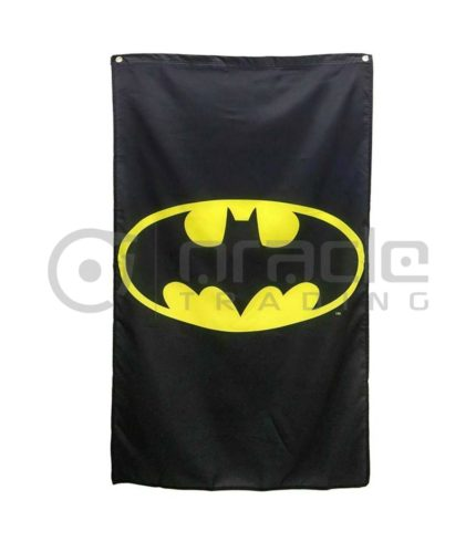 DC Comics Batman Logo Indoor Banner