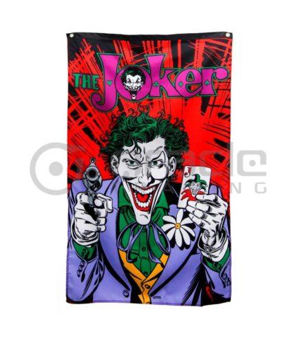 DC Comics Joker Gun & Cards Indoor Banner