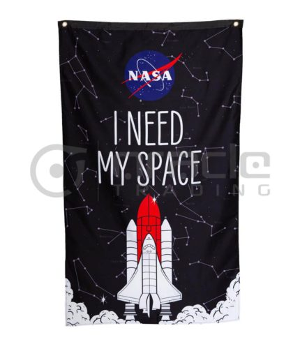 NASA Banner - I Need My Space