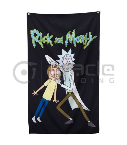 Rick & Morty Banner - Characters