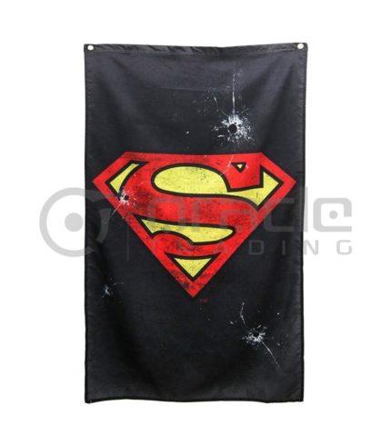 DC Comics Superman Logo Indoor Banner