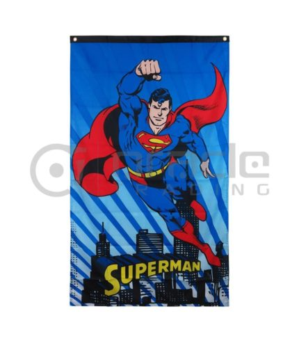 DC Comics Superman Flying Indoor Banner