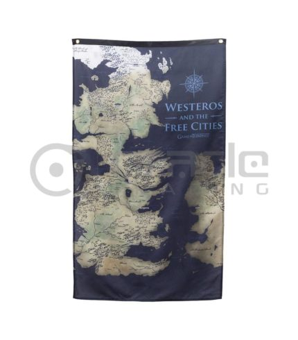 Game of Thrones Westeros Map Indoor Banner