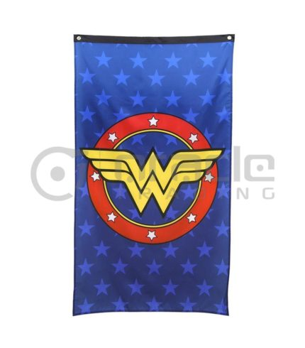 DC Comics Wonder Woman Logo Indoor Banner