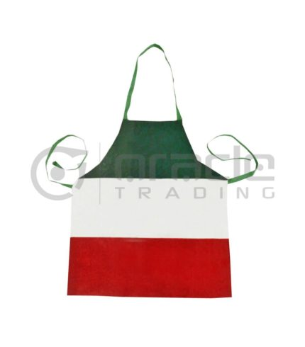 Italia Flag Apron - Canvas