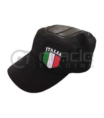 Italia Flex-Fit Army Hat (Black)