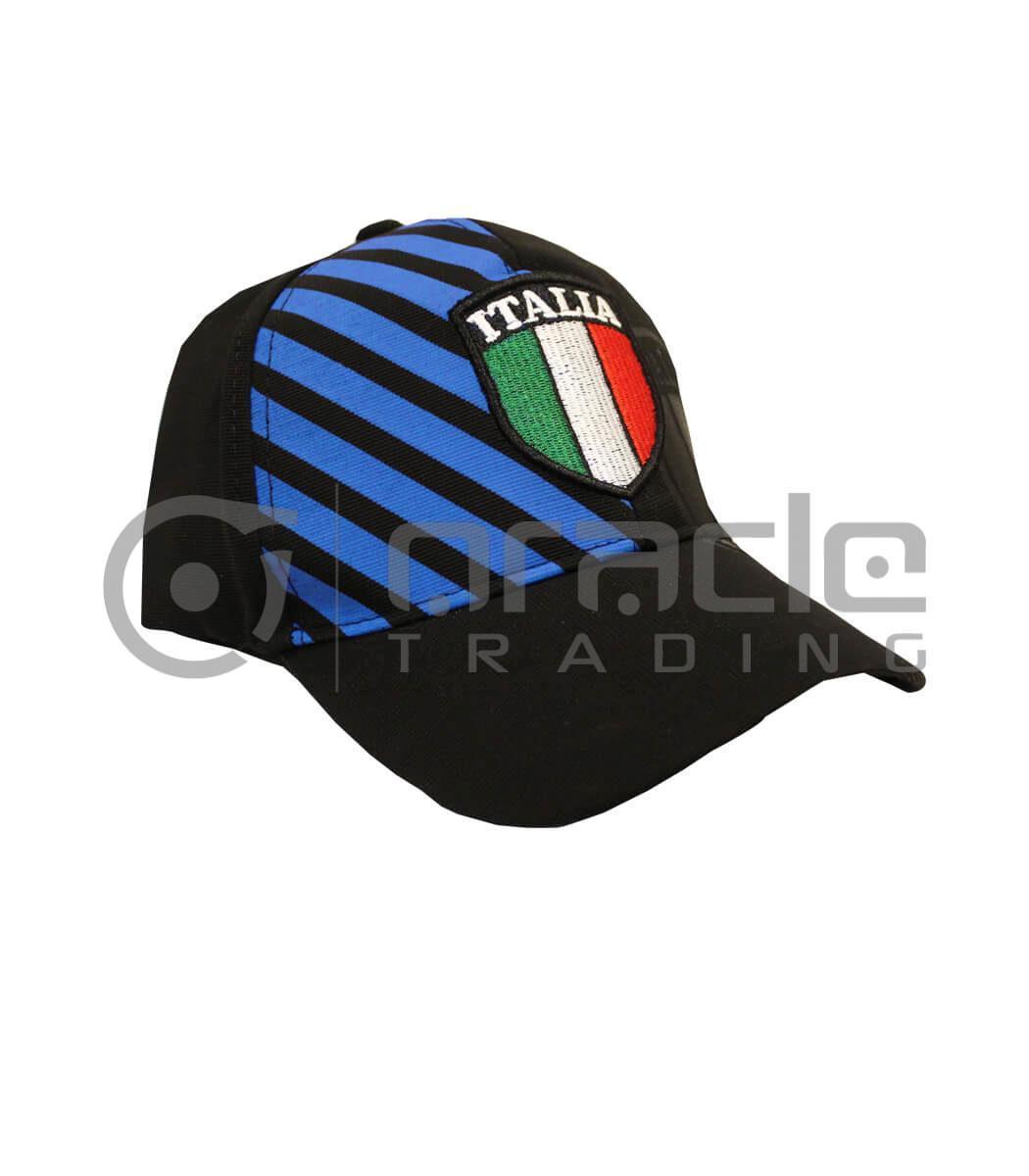 Italia Flex-Fit Crest Hat