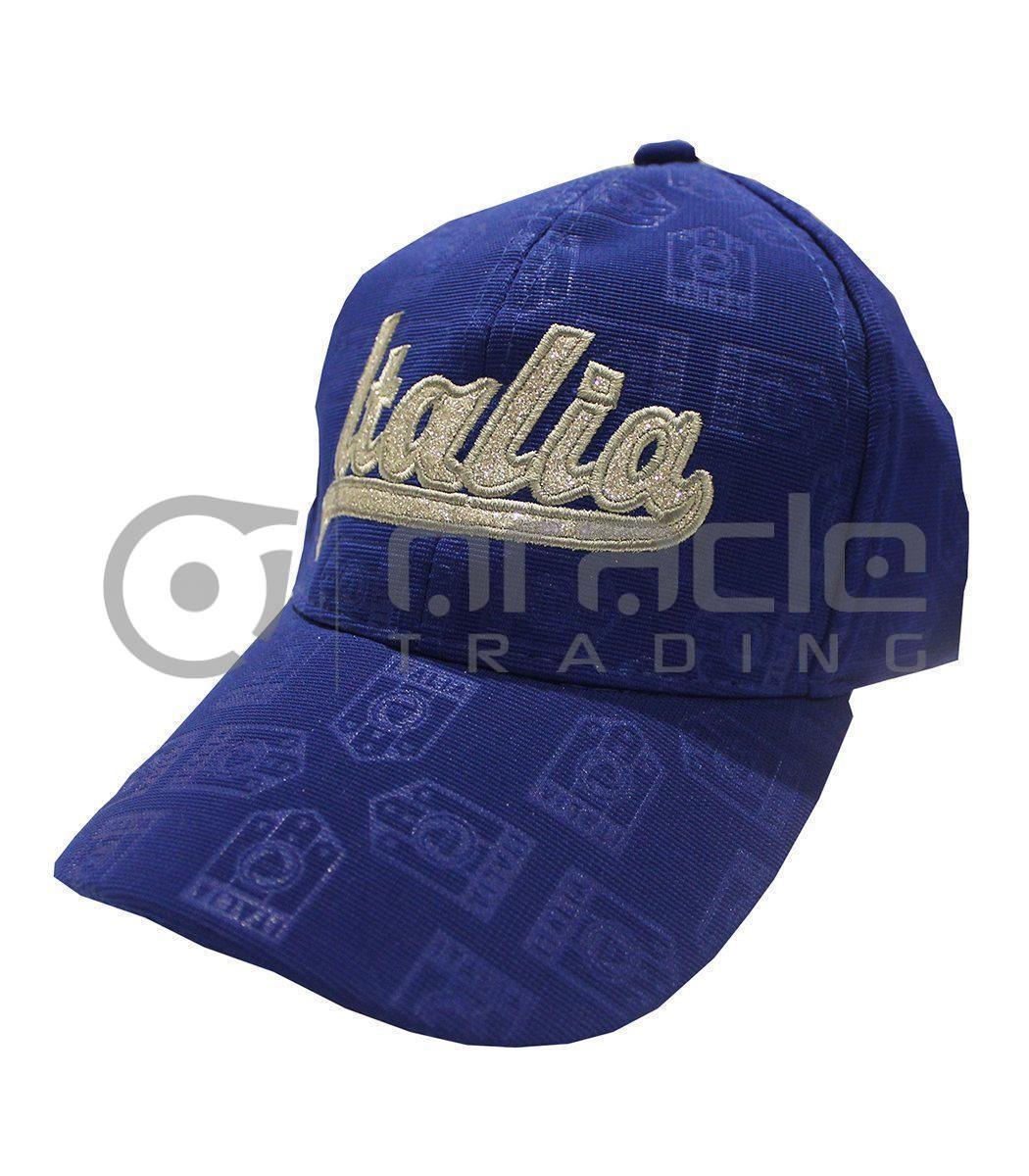 Italia Ladies Hat - Blue
