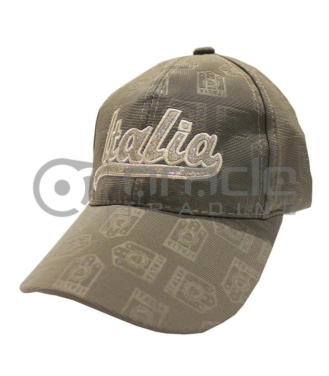 Italia Ladies Hat - Silver