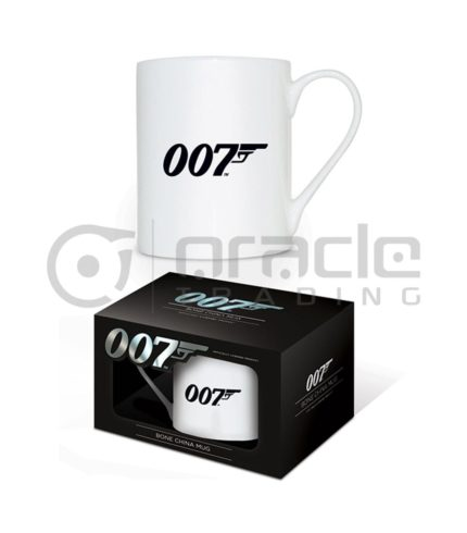 James Bond 007 Logo Bone China Mug