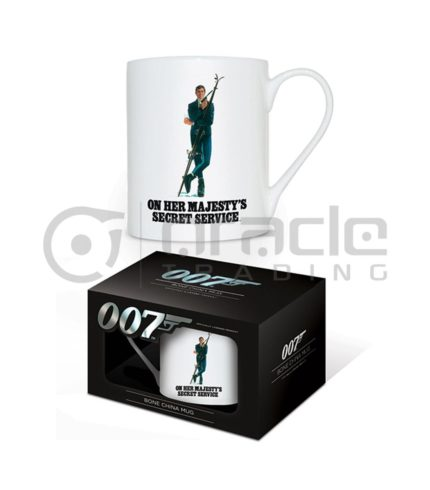 James Bond OHMSS Bone China Mug