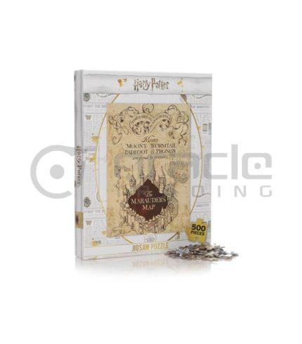 Harry Potter Jigsaw Puzzle - Marauders Map