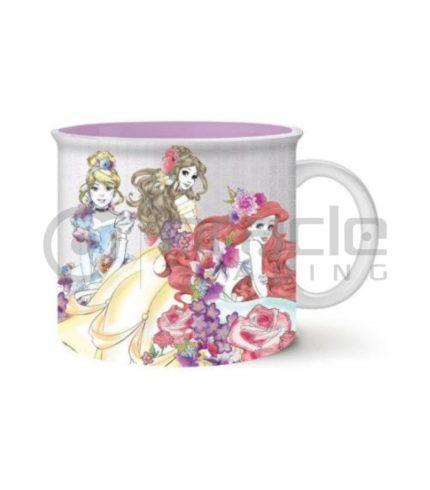 Disney Princess Jumbo Camper Mug - Floral Trio