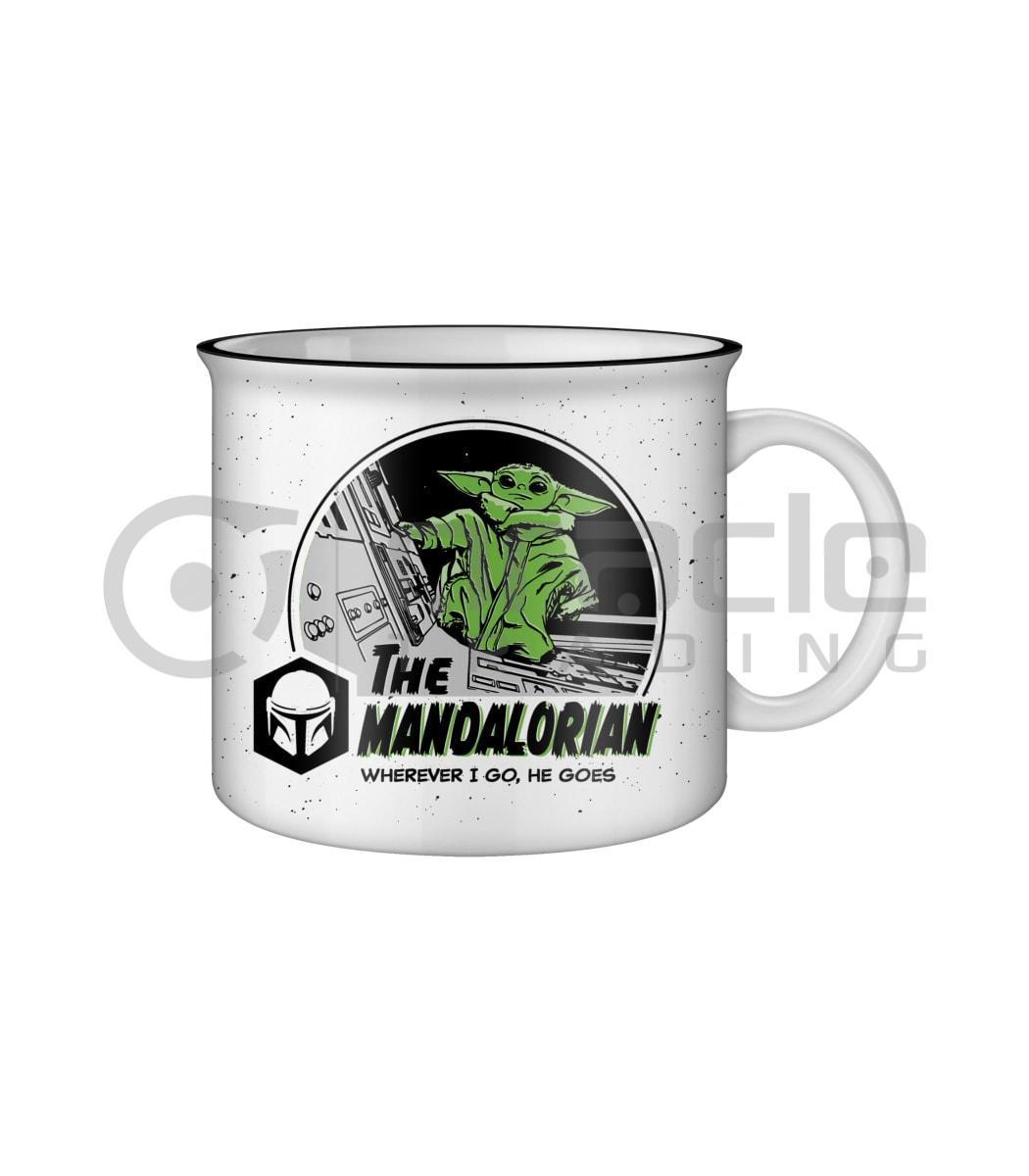 Star Wars: The Mandalorian Jumbo Camper Mug - Together