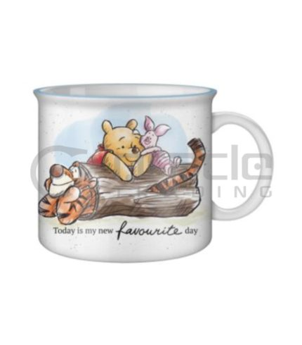 Winnie the Pooh Jumbo Camper Mug - Favourite Day