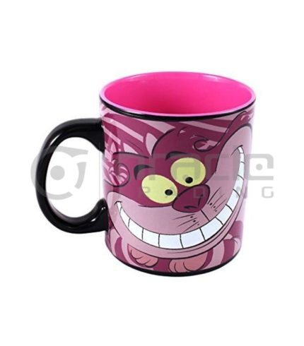 Alice in Wonderland Jumbo Heat Reveal Mug - Cheshire Cat