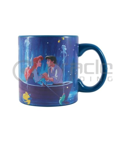 Ariel Jumbo Heat Reveal Mug - Kiss the Girl