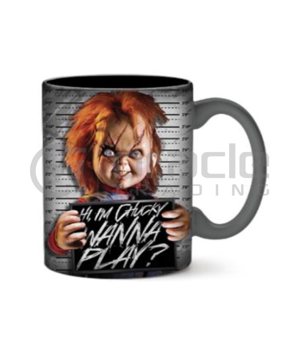 Chucky Jumbo Mug - Wanna Play?