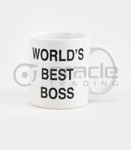 The Office Jumbo Mug - World's Best Boss
