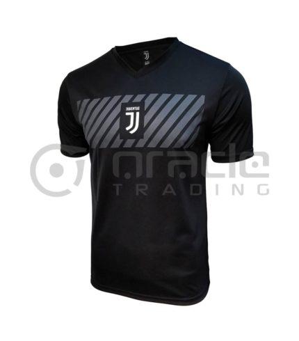 Juventus Black Soccer Shirt