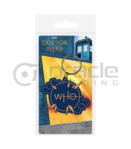Doctor Who Logo Keychain