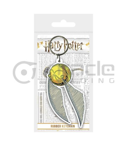 Harry Potter Golden Snitch Keychain