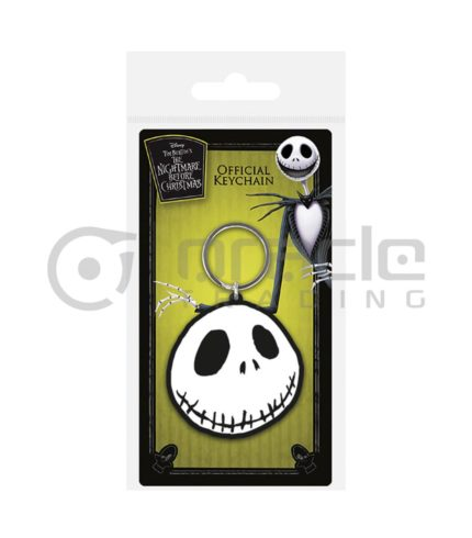 Nightmare Before Christmas Keychain - Jack Face