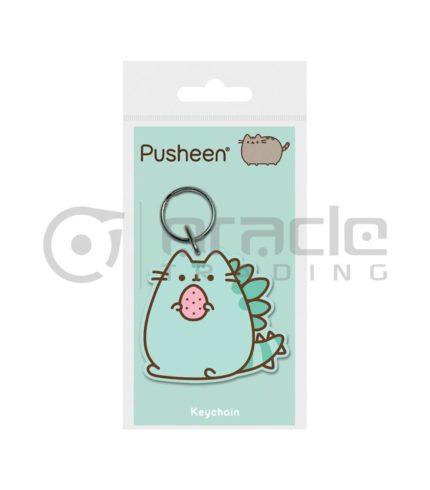 Pusheen Keychain - Pusheenosaurus