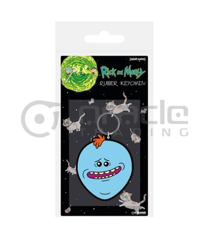 Rick & Morty Keychain (Mr. Meeseeks)