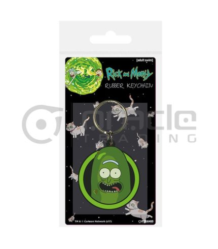 Rick & Morty Keychain (Pickle Rick)