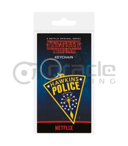 Stranger Things Keychain - Hawkins Police