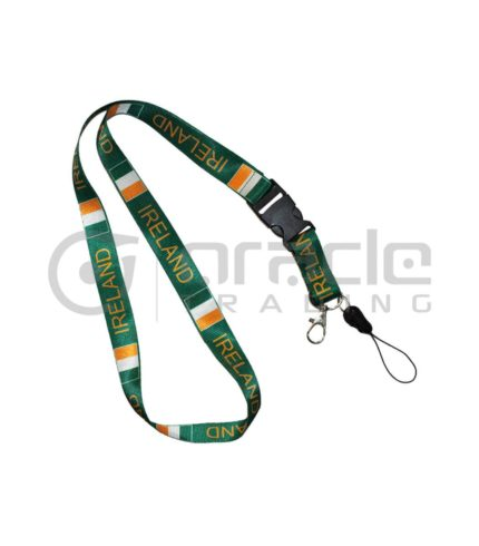 Ireland Lanyard Keychain 12-Pack