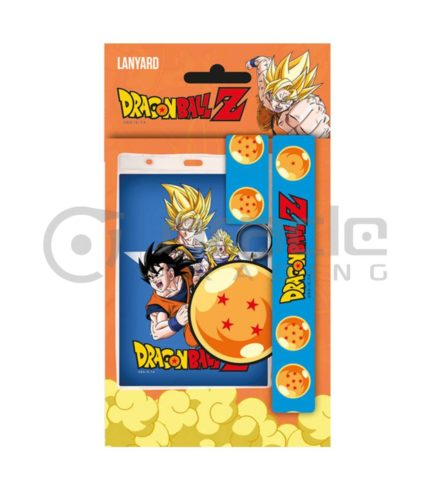 Dragon Ball Z Lanyard & Keychain Set