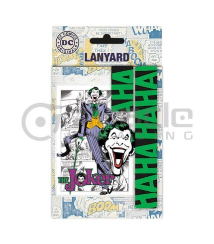 The Joker Lanyard & Keyring Set