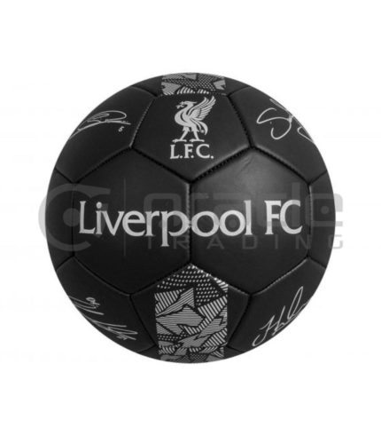 Liverpool Large Soccer Ball - Signature