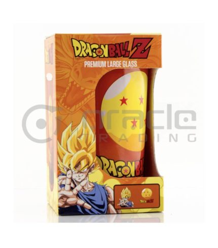 Dragon Ball Z Large Glass - Premium Coloured